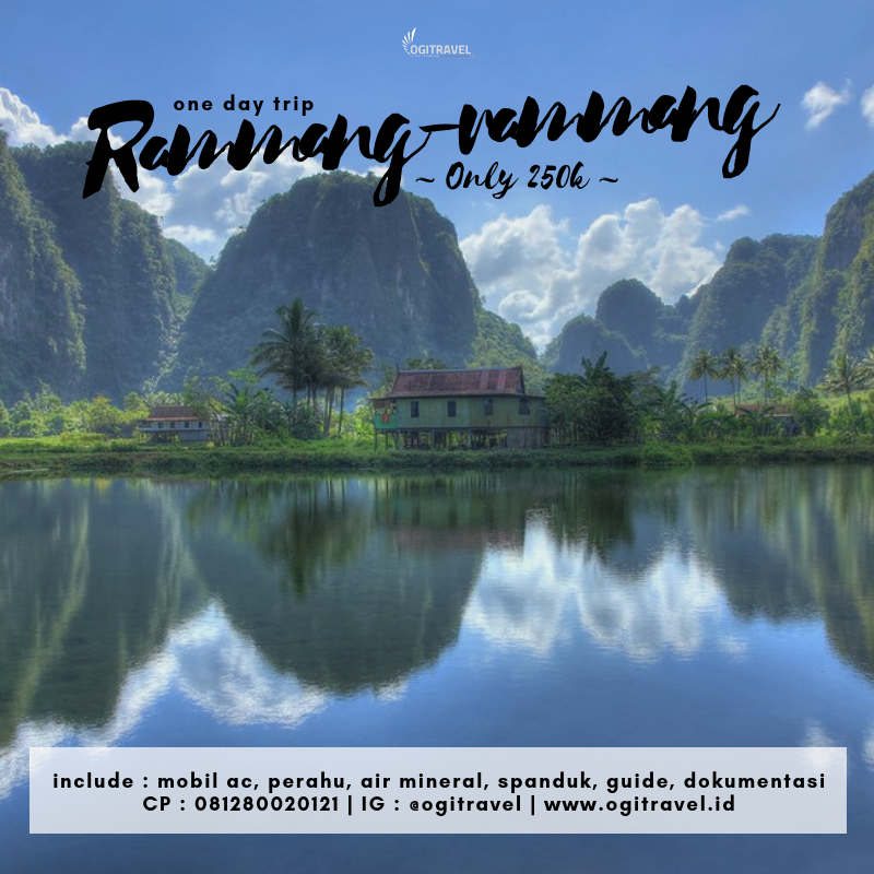 One Day Trip – Rammang-Rammang & Bantimurung