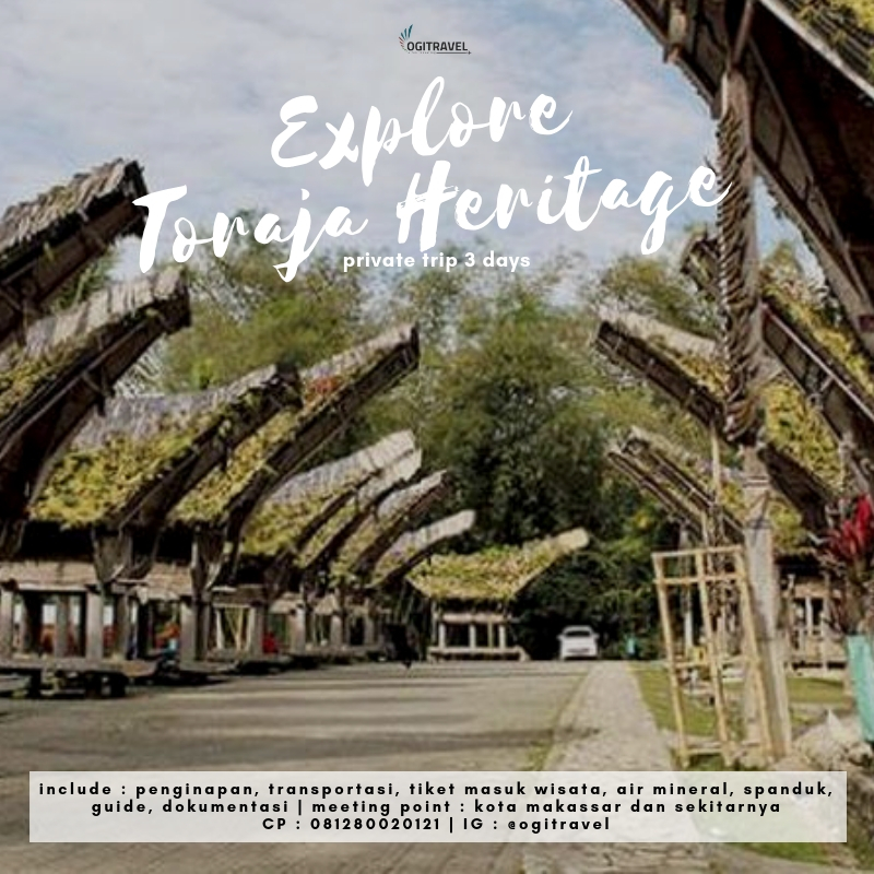 Private Trip – Toraja Heritage 3 Days